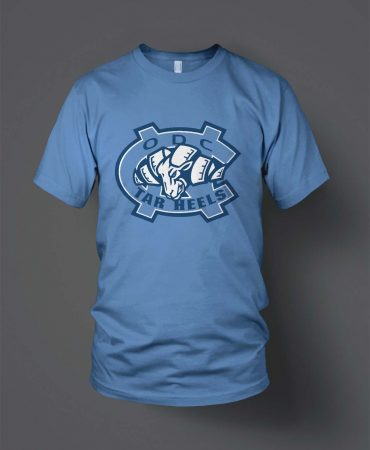 Oaks Dads Club Tarheels little league baseball t's