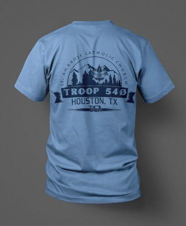 Boy Scouts Troop 540 shirts