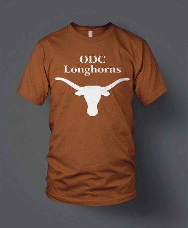 Oaks Dads Club Longhorns Little League shirts