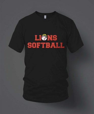 ODC Lions Softball T shirts
