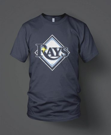 NW45 Little League Rays shirts