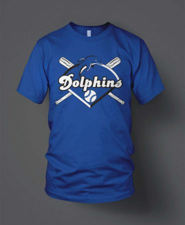 ODC Little League Dolphins Softball Spirit shirts
