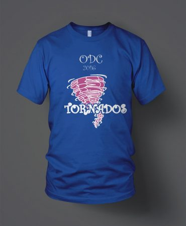 ODC Tornadoes Softball T shirts