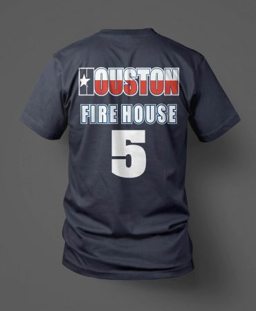 HFD Station 5 t shirt back
