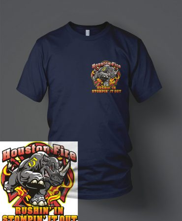 HFD Station 5 t shirt front