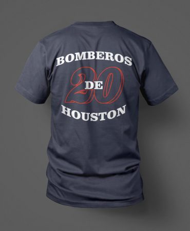 HFD Station 20 Speedy Gonzalez Los Bomberos de Houston back