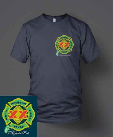 HFD Station 20 Dos XX themed fire station shirt