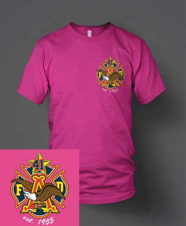HFD Station 41 Budweiser shirt