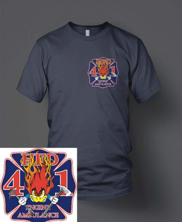 HFD Station 41 Woody duty shirt