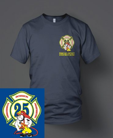 HFD Station 25 Duty Shirt