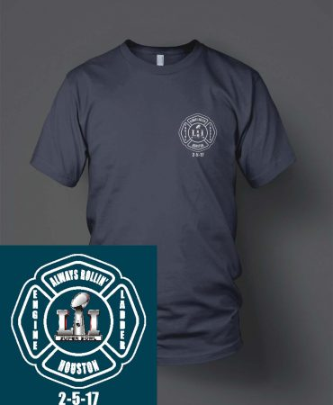 HFD Station 51 Super Bowl shirts
